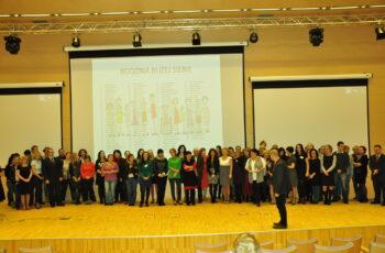 Konferencja Człowiek najlepsza inwestycja - cała załoga projektu Rodzina Bliżej Siebie