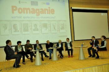 Konferencja Człowiek najlepsza inwestycja - debata panelowa