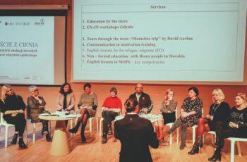 Konferencja Wyjście z cienia - debata panelowa