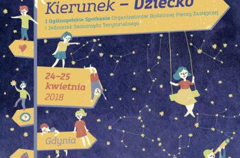 Plakat konferencji Kierunek dziecko
