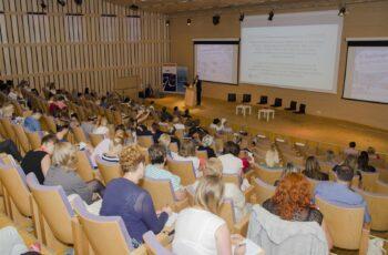 Uczestnicy V Ogólnopolskiego Zlotu Asystentów Rodziny