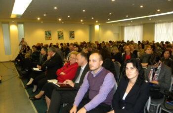 Uczestnicy konferencji Pomorskie ogrody sukcesu;