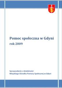 Pomoc społeczna w Gdyni – sprawozdanie z działalności MOPS za rok 2009
