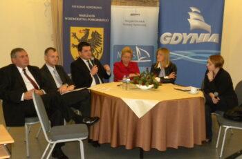 Konferencja Pomorskie ogrody sukcesu - dyskusja panelowa