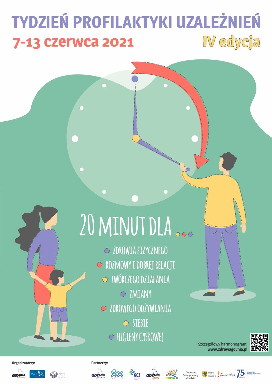 Zdjęcie: Plakat czwartej edycji Tygodnia Profilaktyki Uzależnień, który potrwa w dniach 7-13 czerwca