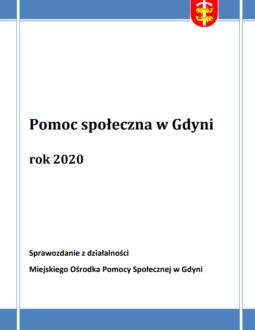 Pomoc społeczna w Gdyni – sprawozdanie z działalności MOPS za rok 2020